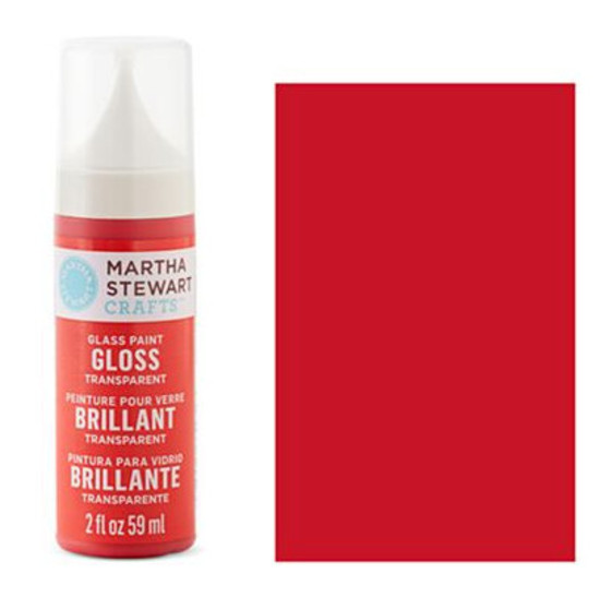 How To Use Martha Stewart Glass Paint Gloss Transparent