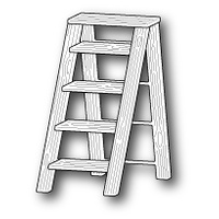 Poppystamps Die Garden Step Ladder 1186