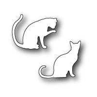 Poppystamps Die Cozy Kitties 1204