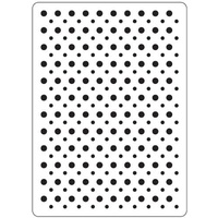 DARICE Embossing Folder Multi Sized Dot 10.5cm x 14.5cm