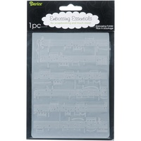 DARICE Embossing Folder Sheet Music 10.5cm x 14.5cm