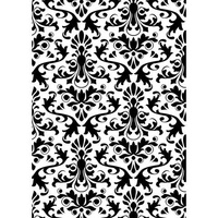 DARICE Embossing Folder Damask 5x7
