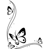 DARICE Embossing Folder Butterflies 10.5cm x 14.5cm