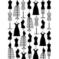 DARICE Embossing Folder Dress Form Small 10.5cm x 14.5cm