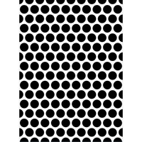DARICE Embossing Folder Large Dot 10.5cm x 14.5cm