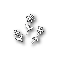 Poppystamps Die Mini Floral Bouquet 1379