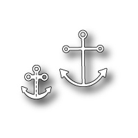 Poppystamps Die Anchors Away 1383