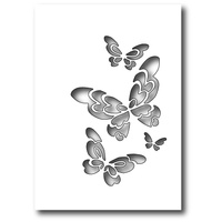 Poppystamps Die Bellina Butterfly Collage 1396