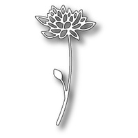 Poppystamps Die Blooming Strawflower 1420