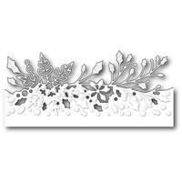 Poppystamps Die Wintergreen Border 1574