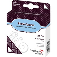 3L Photo Corners Self Adhesive 250/Pkg Clear FREE SHIPPING