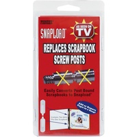 Snap Load Scrapbook & Photo Album Retro Fit Kit - SnapLoad Replaces Screw Posts FREE SHIPPING
