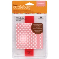 CUTTLEBUG Embossing Folder Hugs & Kisses Border Set A2