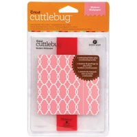 CUTTLEBUG Embossing Folder Modern Wallpaper Border Set A2