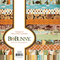 Bo Bunny 6x6 Inch Paper Pad TAKE A HIKE