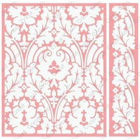 CUTTLEBUG Embossing Folder Anna Griffin Brocade Border Set A2