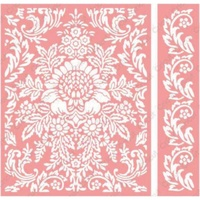 CUTTLEBUG Embossing Folder Anna Griffin Juliet Damask Border Set A2