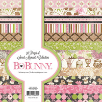 Bo Bunny 6x6 Inch Paper Pad SWEET MOMENTS