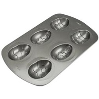 Wilton Cake Pan Decorated Egg Pan 6 Cavity 21051550