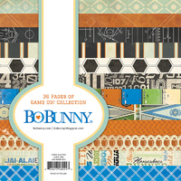 Bo Bunny 6x6 Inch Paper Pad GAME ON