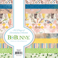 Bo Bunny 6x6 Inch Paper Pad SERENDIPITY