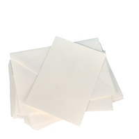 50 Ivory A6 Cards 240gsm and XL Envelopes for Embellished Cards