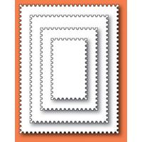 Memory Box Die - Open Studio - Postage Rectangle Layers 30052 FREE SHIPPING