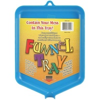 Funnel Tray for Glitter, Powder and Beads
