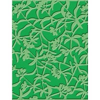 CUTTLEBUG Embossing Folder Floral Screen 4.25x5.5