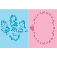 CUTTLEBUG Embossing Folders Duo Princesses 371709