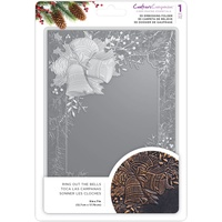Crafter's Companion 3D Embossing Folder 5X7 Ring out the Bells