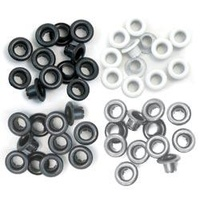 We R Memory Keepers CropADile 60 Eyelets Grey