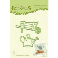 Lea'bilities Leane Creative Die Barrow and Watering Can