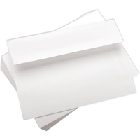 50 White Envelopes 4 3/8 x 5 3/4 Envelopes A2
