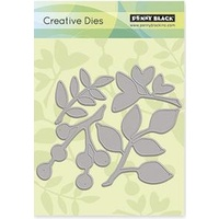 Penny Black Die Leaves