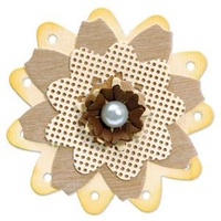 Sizzix Bigz Die Flowers, Cottage Trio 657110