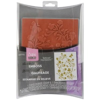 Sizzix Textured Impressions Stamp & Emboss Set Hero Arts Silhouette Vines 657772