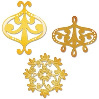 Sizzix Sizzlits Decorative Accent & Flower Wreath Die Set 657998 FREE SHIPPING