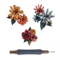 Sizzix Thinlits Tim Holtz Die Set Tiny Tattered Floral 660227