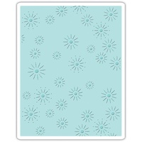 Sizzix Embossing Folder Sparkles by Tim Holtz A2