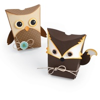Sizzix Thinlits Dies Owl & Fox 7/Pkg 661133