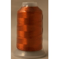 Birch Metallic Machine Embroidery Thread Rust 7713