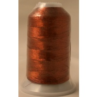 Birch Metallic Machine Embroidery Thread Reddish Brown 7722