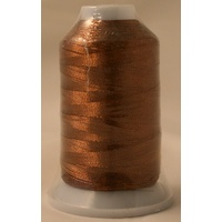Birch Metallic Machine Embroidery Thread Brown 7723