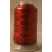 Birch Metallic Machine Embroidery Thread Red 8836