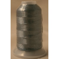 Birch Metallic Machine Embroidery Thread Grey 8848