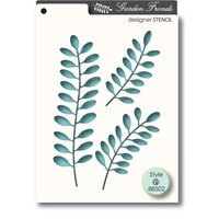 Memory Box Stencil - Fronds 88502 FREE SHIPPING
