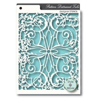 Memory Box Stencil Distressed Tula 88544