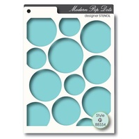 Memory Box Stencil Pop Dots 88554