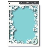 Memory Box Stencil Modern Blooming Frame 88563